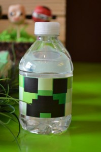 Vintage Minecraft Party via Kara's Party Ideas | KarasPartyIdeas.com #vintage #minecraft #mine #craft #video #game #party #ideas (7)