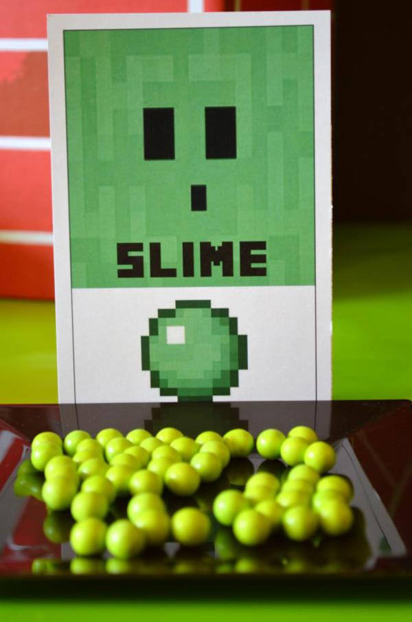 Vintage Minecraft Party via Kara's Party Ideas | KarasPartyIdeas.com #vintage #minecraft #mine #craft #video #game #party #ideas (3)