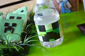 Vintage Minecraft Party via Kara's Party Ideas | KarasPartyIdeas.com #vintage #minecraft #mine #craft #video #game #party #ideas (16)