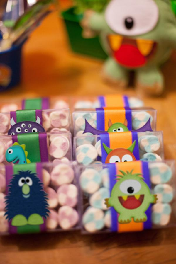 Lil' Monster Party via Kara's Party Ideas | KarasPartyIdeas.com #lil #little #monster #birthday #party #ideas (76)