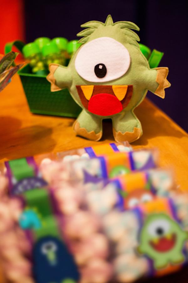 Lil' Monster Party via Kara's Party Ideas | KarasPartyIdeas.com #lil #little #monster #birthday #party #ideas (75)