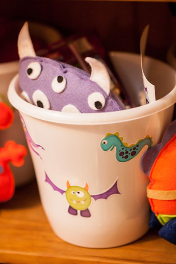 Lil' Monster Party via Kara's Party Ideas | KarasPartyIdeas.com #lil #little #monster #birthday #party #ideas (20)