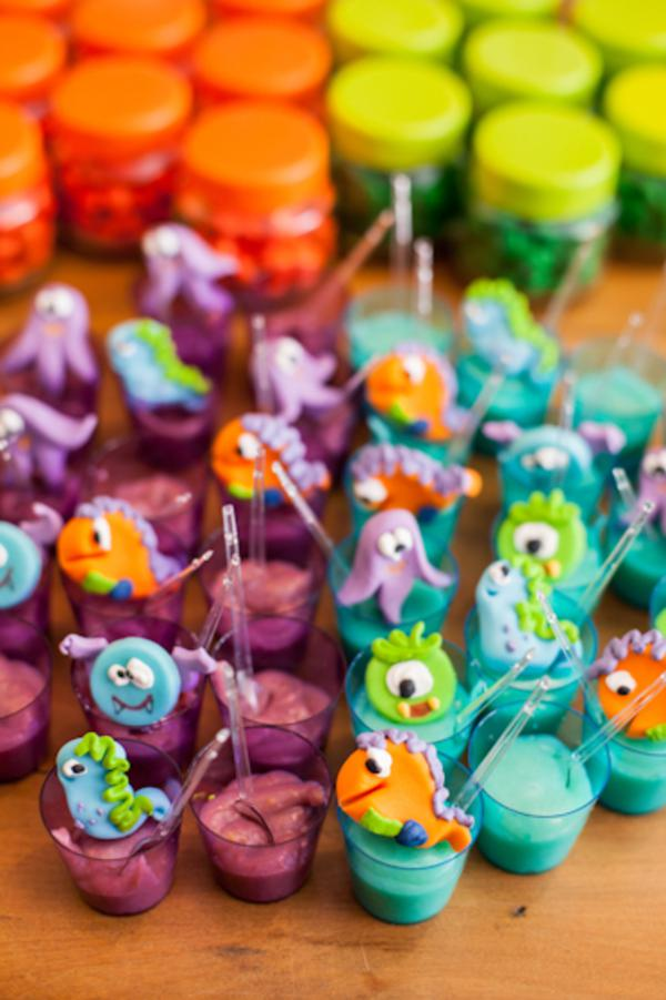 Lil' Monster Party via Kara's Party Ideas | KarasPartyIdeas.com #lil #little #monster #birthday #party #ideas (10)