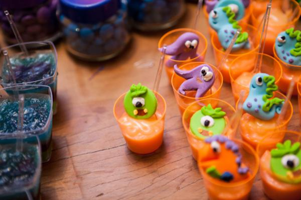 Lil' Monster Party via Kara's Party Ideas | KarasPartyIdeas.com #lil #little #monster #birthday #party #ideas (9)