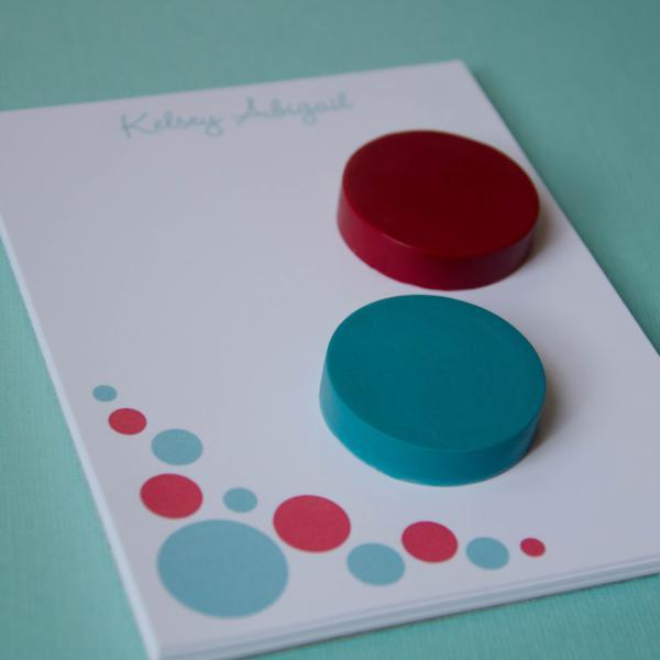 Aqua and Red Polka Dot Party via Kara's Party Ideas | KarasPartyIdeas.com #red #aqua #polka #dot #party #ideas (4)