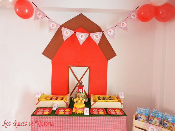 McDonald's Farm Birthday Party via Kara's Party Ideas | Kara'sPartyIdeas.com #mcdonald #farm #birthday #party #supplies #ideas (11)
