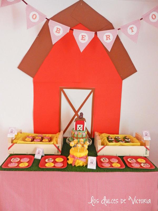 McDonald's Farm Birthday Party via Kara's Party Ideas | Kara'sPartyIdeas.com #mcdonald #farm #birthday #party #supplies #ideas (10)