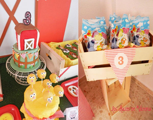Kara S Party Ideas Quot Old Mcdonald Quot Farm 3rd Birthday Party