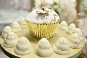 Mint and Gold Party via Kara's Party Ideas | Kara'sPartyIdeas.com #mint #and #gold #party #supplies #ideas #decorations (11)