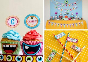 colorful monster party #planning #ideas #monster #cake #supplies #idea