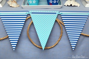 Nautical Sailboat Birthday Party via Kara's Party Ideas | Kara'sPartyIdeas.com #nautical #sailboat #birthday #party #planning #supplies #ideas (21)