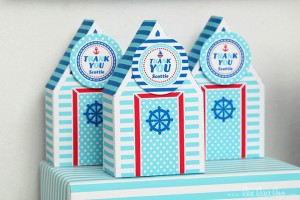 Nautical Sailboat Birthday Party via Kara's Party Ideas | Kara'sPartyIdeas.com #nautical #sailboat #birthday #party #planning #supplies #ideas (19)