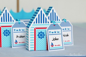 Nautical Sailboat Birthday Party via Kara's Party Ideas | Kara'sPartyIdeas.com #nautical #sailboat #birthday #party #planning #supplies #ideas (5)