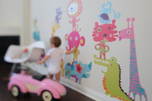 Chic Fabric Wall Art via Kara's Party Ideas | KarasPartyIdeas.com #chic #vinyl #wall #art #promo #discount (5)