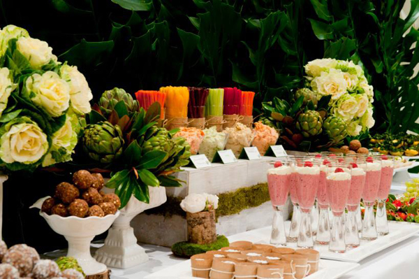 Organic Buffet and Veggie Bar via Kara's Party Ideas | KarasPartyIdeas.com #organic #buffet #veggie #bar (18)