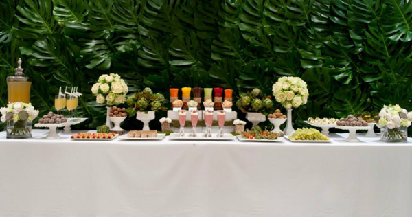 Organic Buffet and Veggie Bar via Kara's Party Ideas | KarasPartyIdeas.com #organic #buffet #veggie #bar (26)