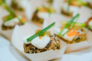 Organic Buffet and Veggie Bar via Kara's Party Ideas | Kara'sPartyIdeas.com #organic #buffet #veggie #bar (25)