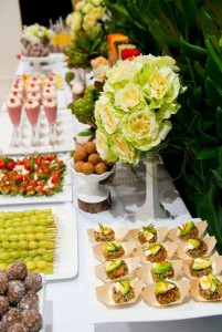 Organic Buffet and Veggie Bar via Kara's Party Ideas | Kara'sPartyIdeas.com #organic #buffet #veggie #bar (19)