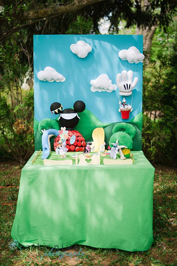 Karas Party Ideas Mickey Mouse Clubhouse Party via Karas Party