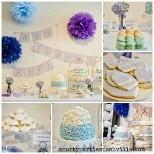 Hydrangea Garden Birthday Party via KarasPartyIdeas.com #hydrangea #birthday #party #idea (5)