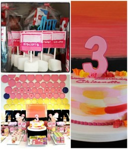 Girly Art Party with TONS of Great Ideas via KarasPartyIdeas.com #girl #art #party #idea #decorations