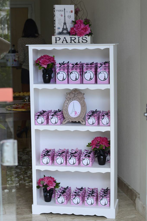 Pink Paris Party via Kara's Party Ideas | Kara'sPartyIdeas.com #pink #paris #party #planning #ideas #supplies (18)