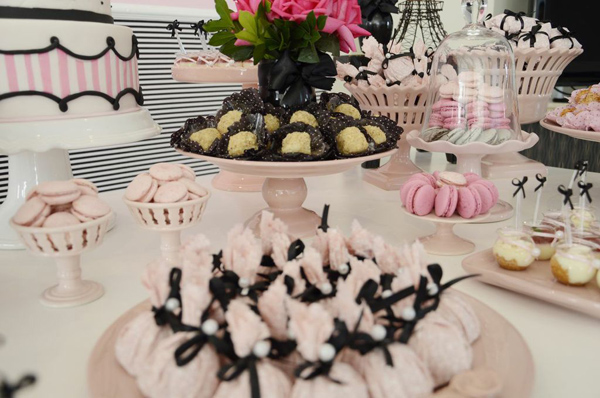 Pink Paris Party via Kara's Party Ideas | Kara'sPartyIdeas.com #pink #paris #party #planning #ideas #supplies (4)