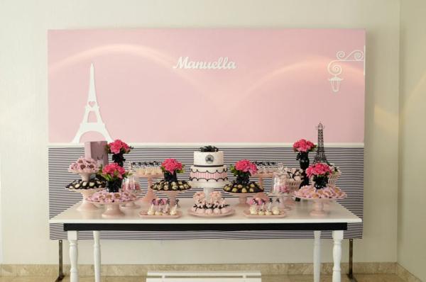 Pink Paris Party Via Karas Ideas