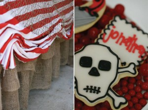 Pirate Third Birthday Party via Kara's Party Ideas | Kara'sPartyIdeas.com #pirate #third #birthday #party #supplies #ideas (26)