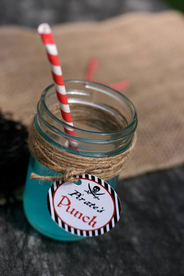 Pirate Third Birthday Party via Kara's Party Ideas | Kara'sPartyIdeas.com #pirate #third #birthday #party #supplies #ideas (17)