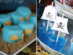 Pirate Third Birthday Party via Kara's Party Ideas | Kara'sPartyIdeas.com #pirate #third #birthday #party #supplies #ideas (13)