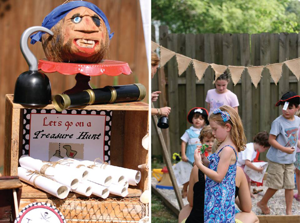 Pirate Third Birthday Party via Kara's Party Ideas | Kara'sPartyIdeas.com #pirate #third #birthday #party #supplies #ideas (6)
