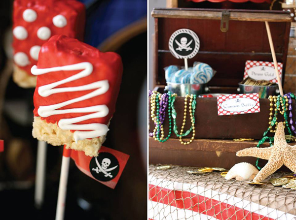 Pirate Third Birthday Party via Kara's Party Ideas | Kara'sPartyIdeas.com #pirate #third #birthday #party #supplies #ideas (2)
