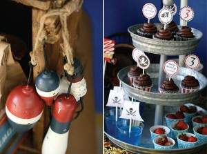 Pirate Third Birthday Party via Kara's Party Ideas | Kara'sPartyIdeas.com #pirate #third #birthday #party #supplies #ideas (1)