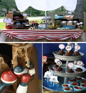 Pirate Third Birthday Party with Lots of Ideas via Kara's Party Ideas | Kara'sPartyIdeas.com #pirate #third #birthday #party #supplies #ideas