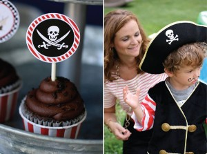 Pirate Third Birthday Party via Kara's Party Ideas | Kara'sPartyIdeas.com #pirate #third #birthday #party #supplies #ideas (22)