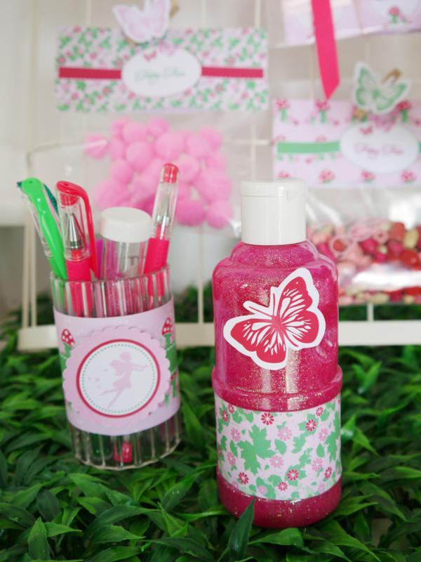 Pixie Fairy Party via Kara's Party Ideas | KarasPartyIdeas.com #pixie #fairy #pink #girl #party #ideas (15)