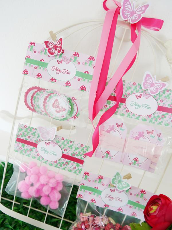 Pixie Fairy Party via Kara's Party Ideas | KarasPartyIdeas.com #pixie #fairy #pink #girl #party #ideas (14)