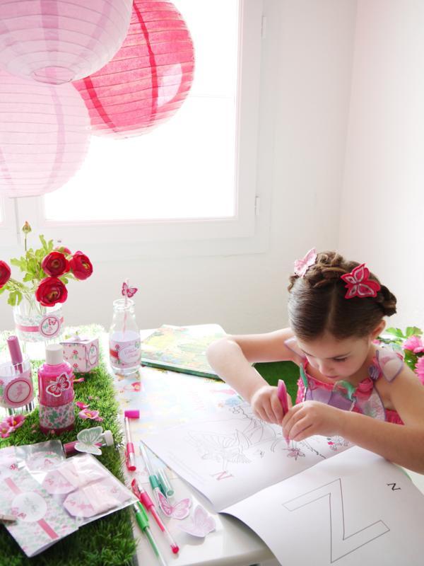 Pixie Fairy Party via Kara's Party Ideas | KarasPartyIdeas.com #pixie #fairy #pink #girl #party #ideas (11)
