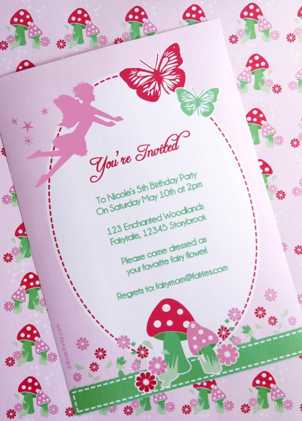 Kara\'s Party Ideas Pixie Fairy Pink Girl Birthday Party Planning ...