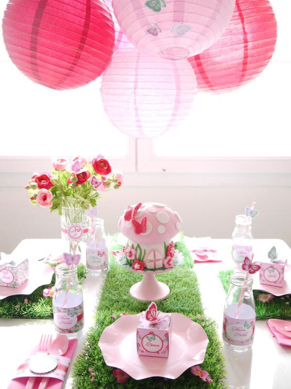 Pixie Fairy Party via Kara's Party Ideas | KarasPartyIdeas.com #pixie #fairy #pink #girl #party #ideas (6)