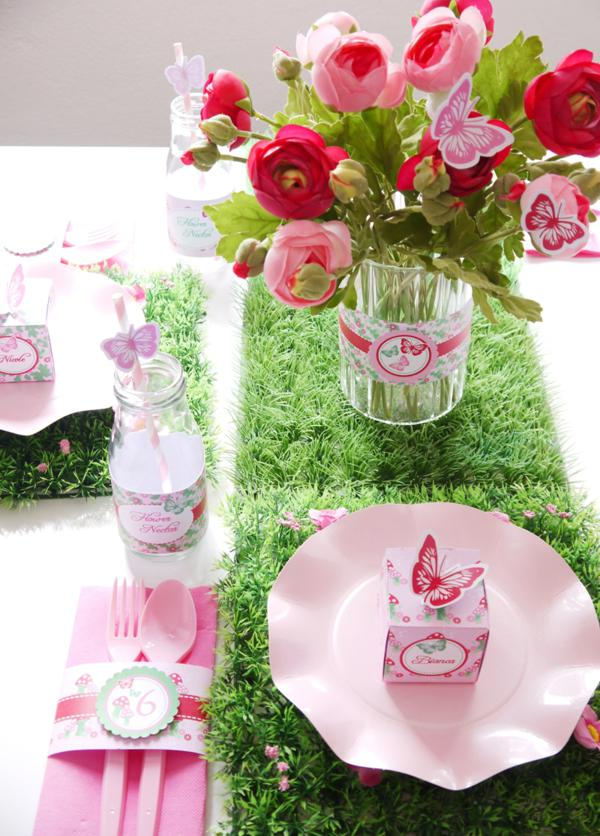 Pixie Fairy Party via Kara's Party Ideas | KarasPartyIdeas.com #pixie #fairy #pink #girl #party #ideas (5)