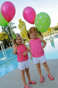 Preppy Pink and Green Sea Turtle Party via Kara's Party Ideas | Kara'sPartyIdeas.com #preppy #pink #and #green #sea #turtle #birthday #party (16)
