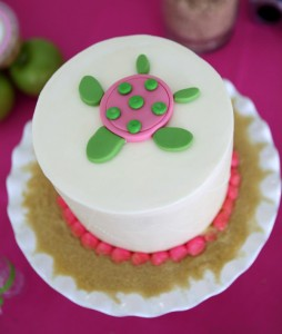 Preppy Pink and Green Sea Turtle Party via Kara's Party Ideas | Kara'sPartyIdeas.com #preppy #pink #and #green #sea #turtle #birthday #party (14)