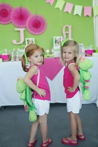 Preppy Pink and Green Sea Turtle Party via Kara's Party Ideas | Kara'sPartyIdeas.com #preppy #pink #and #green #sea #turtle #birthday #party (11)