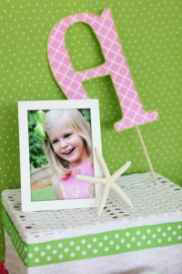 Preppy Pink and Green Sea Turtle Party via Kara's Party Ideas | Kara'sPartyIdeas.com #preppy #pink #and #green #sea #turtle #birthday #party (10)