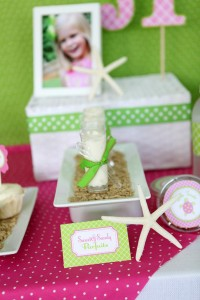 Preppy Pink and Green Sea Turtle Party via Kara's Party Ideas | Kara'sPartyIdeas.com #preppy #pink #and #green #sea #turtle #birthday #party (8)