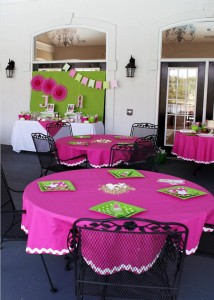 Preppy Pink and Green Sea Turtle Party via Kara's Party Ideas | Kara'sPartyIdeas.com #preppy #pink #and #green #sea #turtle #birthday #party (5)