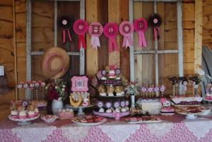 Cowgirl Princess Fifth Birthday Party via Kara's Party Ideas | Kara'sPartyIdeas.com #cowgirl #princess #birthday #party #ideas #supplies #decorations (29)