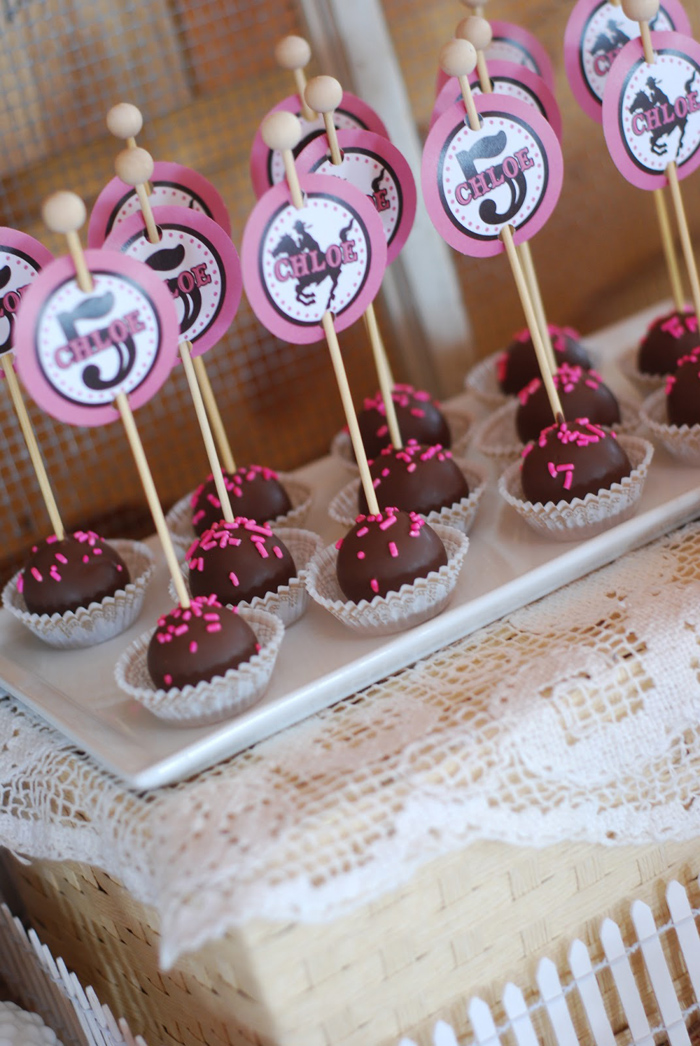 Kara S Party Ideas Cowgirl Princess Fifth Birthday Party